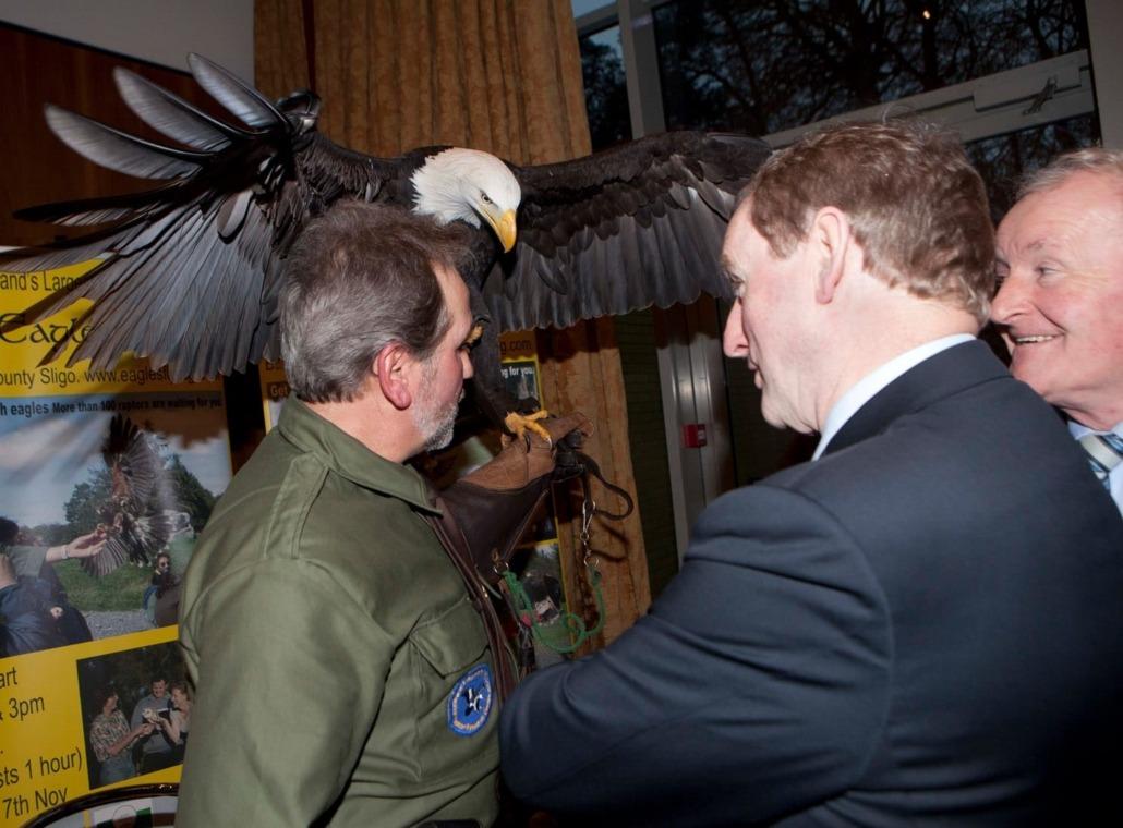 Enda Kenny with Eagles Flying Sligo